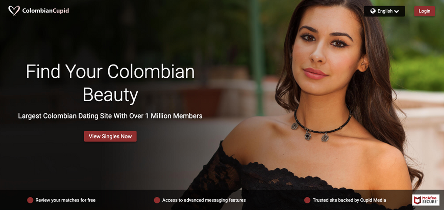 Gorgeous Colombian woman